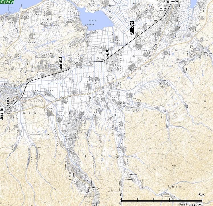 北陸鉄道加南線跡を訪ねて