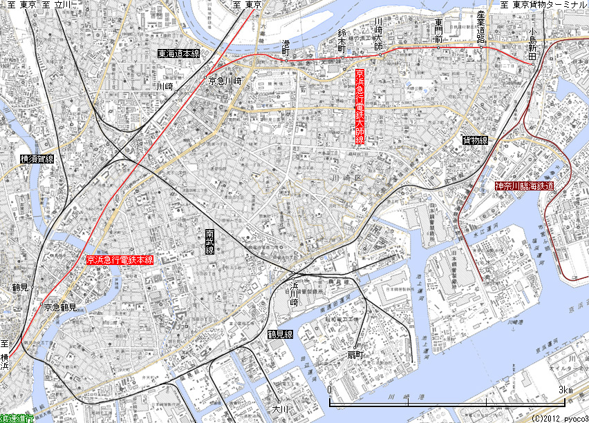 路線図・乗り場案内 臨港バス -
